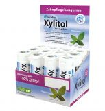 Xylitol Chewing Gum Display Pfefferminz (Hager & Werken)