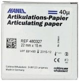 HANEL Artikulationspapier 22mm 40µ blau (Coltene Whaledent)